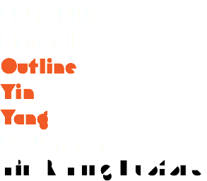 EUTOPIA Normal Outline Yin Yang Background Yin & Yang Duotone